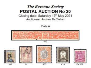Post auction 20